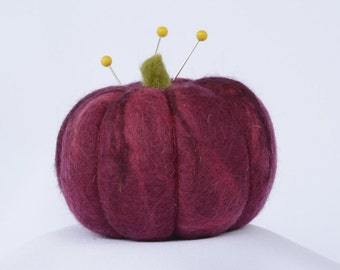 PURPLE CHEROKEE Heirloom Tomato Pincushion