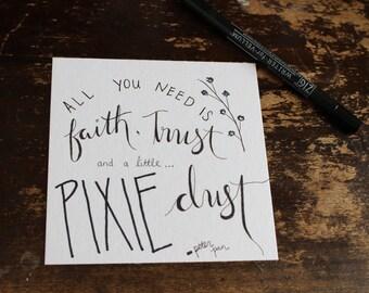 Pixie Dust Print