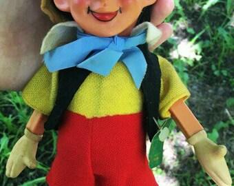 Vintage wind-up Pinocchio