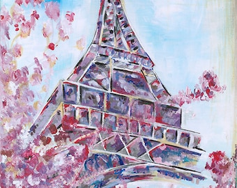 The Paris Collection: Eiffel Tower Blossom