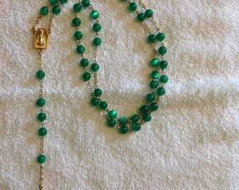Hand crafted rosary beads