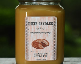 Granny's Apple Pie Scented Candle: 3.7 oz
