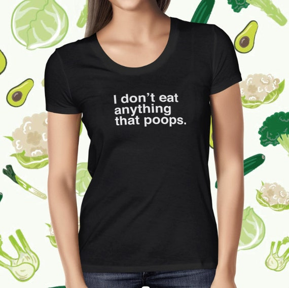 Vegan Shirt for Women - Statement Vegan Shirt - Animal Rights T-shirt - Vegetarian Tee Shirt - Plant-based T Shirt - Women's Vegan T-shirt