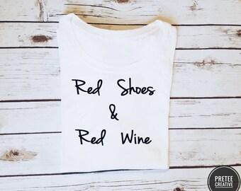 Women dressy tops - red wine shirt - graphic tshirts for women - women - women fashion tops - dressy cute top - mom funny shirt - tshirt