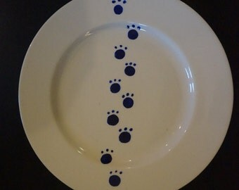 Cat Paws Dinner Plate