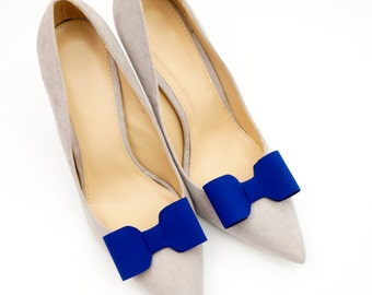 Dark blue/navy blue bows  - shoe clips Manuu
