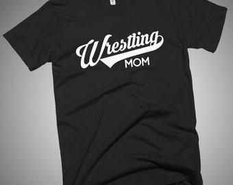 Wrestling Mom T-Shirt Gift