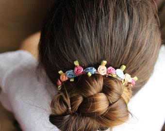 Claudia Floral Crown/Piece