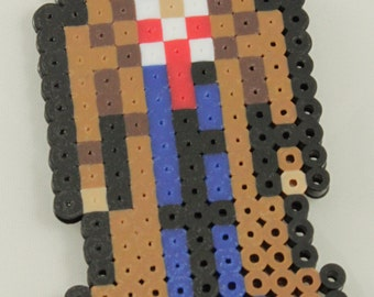Doctor Who perler bead - The Tenth Doctor