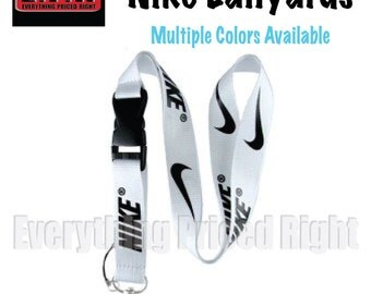 BRAND NEW Nike Lanyard Strap-Badge ID/Cell Holder/Detachable Keychain