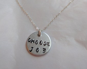 Choose Joy Charm