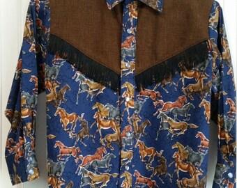 Boy's Western Shirts