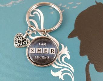 I am SHER-LOCKED Keychain
