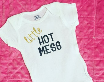 Little Hot Mess Onesie