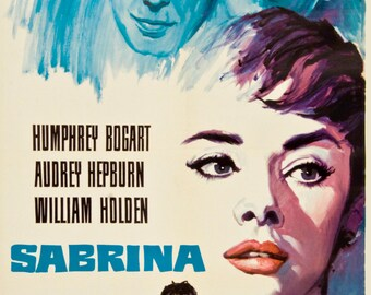 SALE! Sabrina - Vintage Poster - Audrey Hepburn (27 x 39)