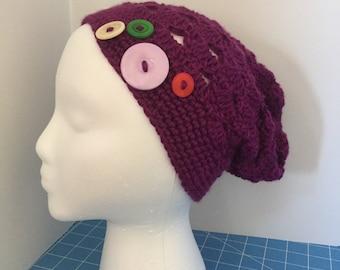 Deep Purple Women's Hat
