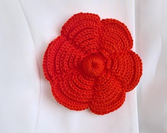Brooche Irish Crochet Handmade