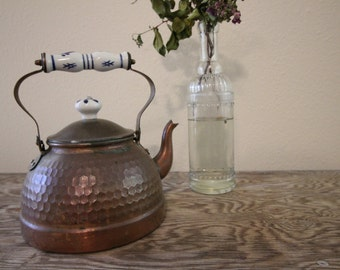 Copper Tea Kettle #7