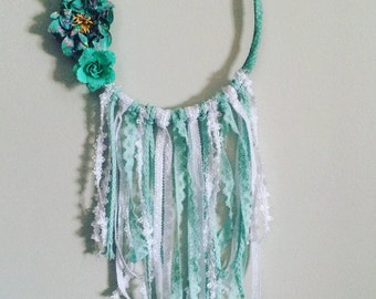 Boho dream catcher blue
