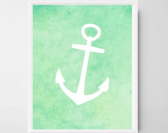 anchor bathroom  etsy, Bathroom decor