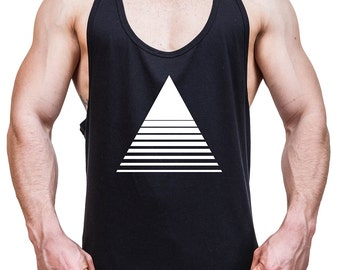 Men Stringer tank top triangle