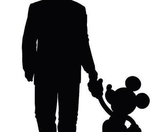 Downloadable Walt Disney with Mickey SVG