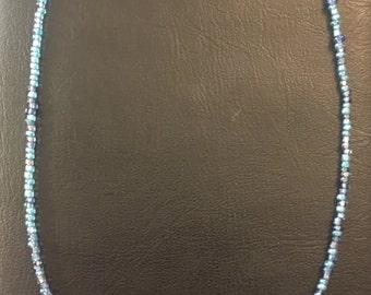 Blue Cubes necklace