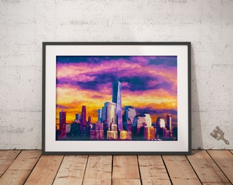 Freedom Tower Print