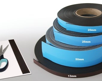 Self-Adhesive Magnetic Strip Rolls - Perfect for Arts & Crafts