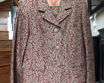 OPENING SALE Vintage Jacket and Skirt set size small