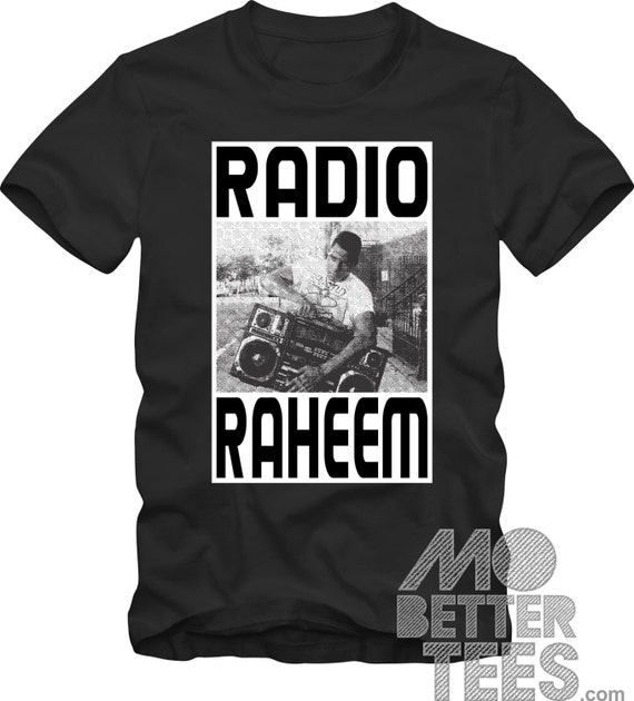 Radio Raheem black T-Shirt Do The Right Thing A Spike Lee Joint 1989