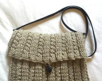 Handmade crocheted purse