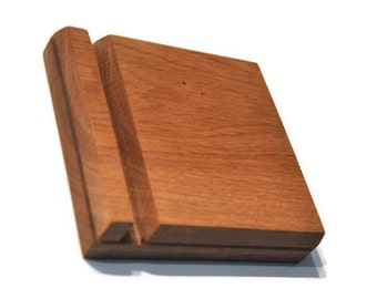 Wooden iPad Stand, Stand for iPad, tablet stand , Tablet Holder , dock  station