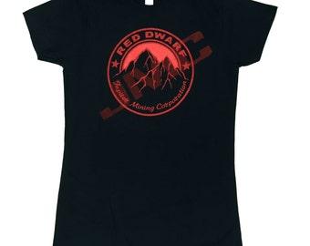 Ladies T-Shirt > RED DWARF inspired > S - 2XL