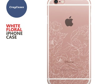 Floral iPhone 7 Case, Floral iPhone 6s Plus Case,  Floral iPhone 6 Case, Floral iPhone 6 Plus Case (Shipped From UK)