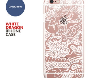 White Dragon iPhone 6s Case Dragon iPhone 6s Plus Case Dragon iPhone 6 Case Dragon iPhone 7 Plus Case (Shipped From UK)