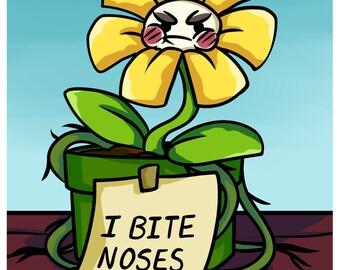 Creature Shaming - Daisy Sunshine Flower -  Original fantasy art