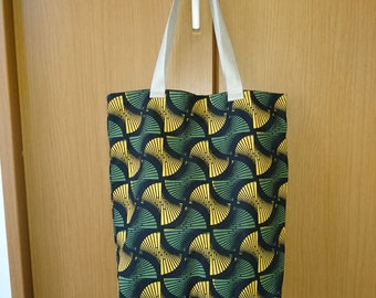 Japanese Soft Tall Tote Bag - Abstract Print (Type C)