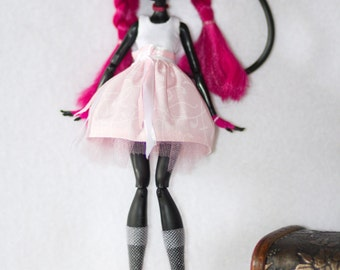 "Monster High clothes - Monster High outfits - EAH outfits - Monster High dress ""The pink cloud"""
