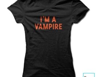 I'm a Vampire   Halloween   Holiday   Women's T-shirt