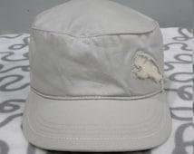 Rare Puma Big Logo Adjustable Cap Hat Exclusive Of Trimmings / PUMA Cap / PUMA Hat