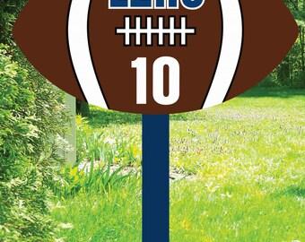 Football Booster Yard Sign