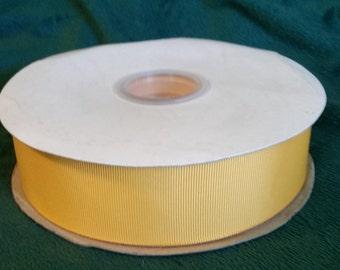 Light Gold 1 1/2in. Grosgrain Ribbon 50 Yards