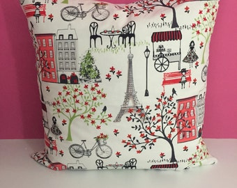 Accent Pillow French Print