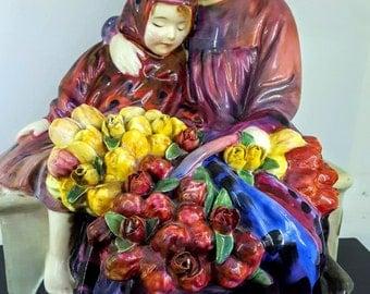 Royal Doulton 'Flower Sellers Children' Figure - HN 1342