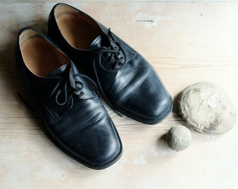 Shoes, Leather Shoes, Shoes for man, Police shoes, Black shoes size 8.5, Oxford shoes, 90s shoes, Lace up shoes, Style shoes, Wedding shoes