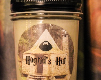 Hagrid's Hut 100% Soy Harry Potter Inspired Candle