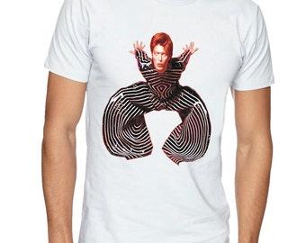 DAVID BOWIE t-shirt. Music t shirt. Mens tshirt. Gift for men. Music tee, Streetwear Fashion T-Shirts, apparel, clothing by FET.tees.