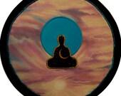 Mythala: Sunrising Meditation; Mandala...Myth...Mythala (Wall Hanging, Altar Cloth, Prayer, Sacred Art, Medicine Wheel, Devotional, Ritual)