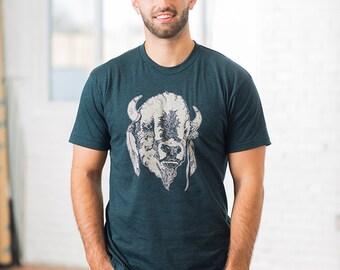 Buffalo Screen Printed T-shirt